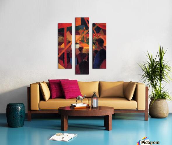 Tightrope by Macke Impression sur toile