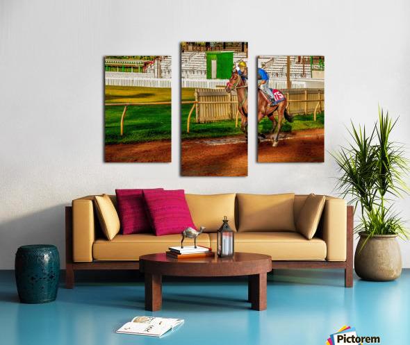 Racehorse02 Canvas print
