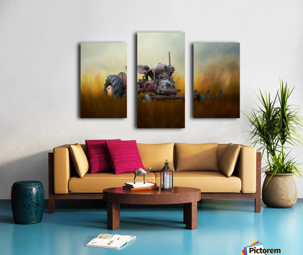 Seasons of the Past Canvas print