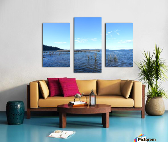 One Day at the Estuary 2 of 4 Canvas print