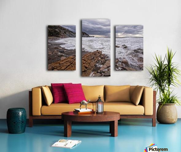Surf at Pillar Rock Canvas print
