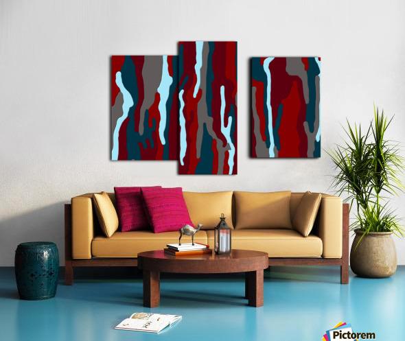 Bloodrain Canvas print