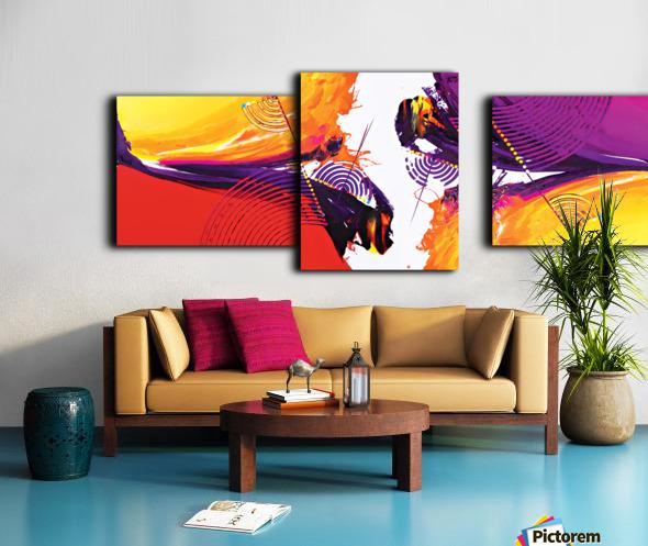 Abstract Art Britto - QB188 Canvas print
