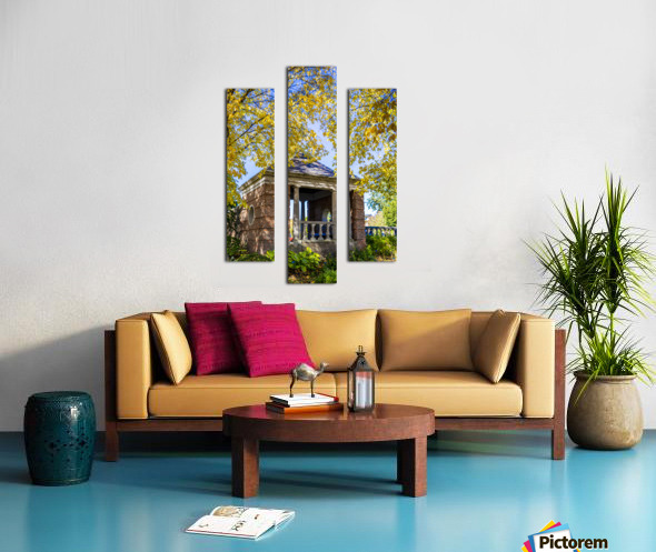 Shelter in the Fall Canvas print