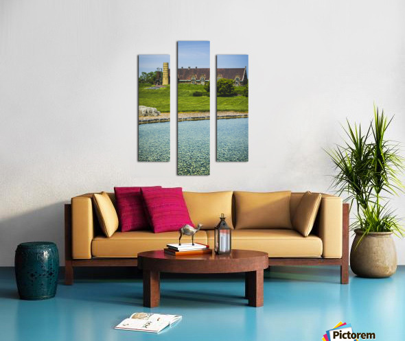 Quiet Space in the City Canvas print