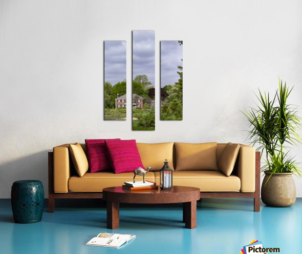House in the Woods Canvas print