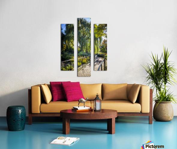 Drape of Trees Canvas print