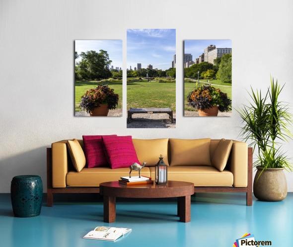 Look Through Lincoln Park Canvas print