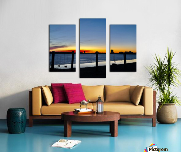 The City is My Playground Canvas print