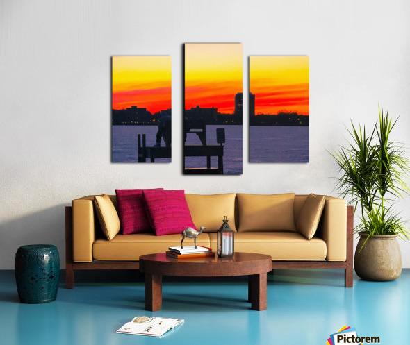 The Lifeguard  Canvas print