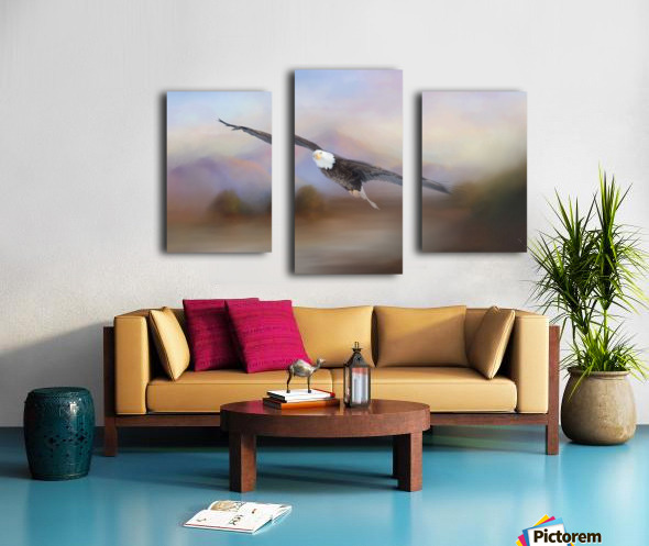 With the Winds Canvas print