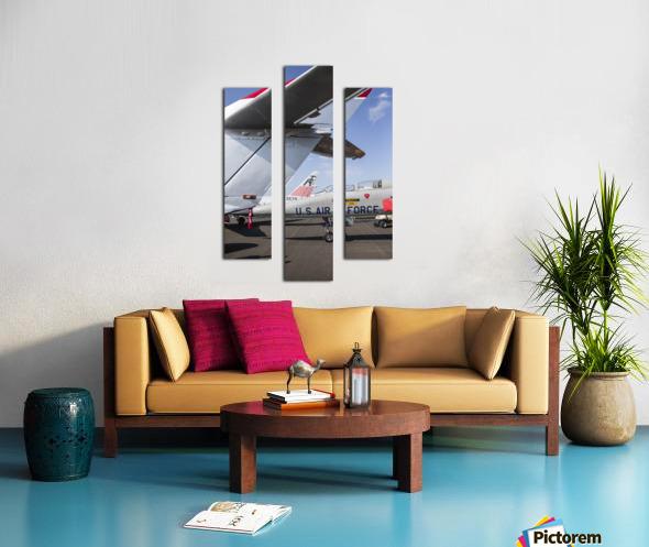 A Line of Planes Canvas print