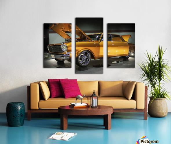 1966 Chevy II Nova Canvas print