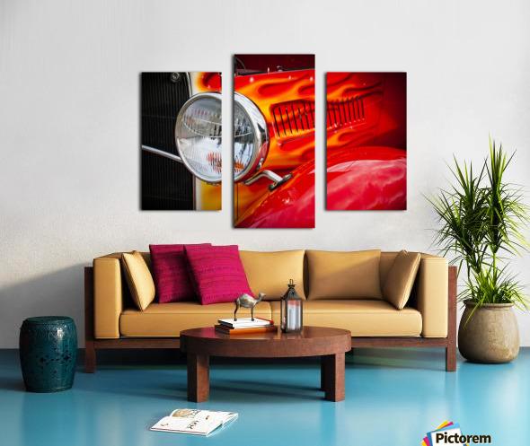 Light the Flames Canvas print