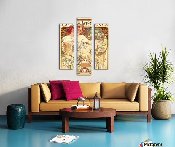 Biscuits Lefevre-Utile Canvas print