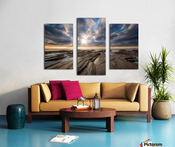 The Glory Canvas print