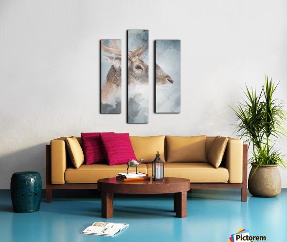 Cerf  Canvas print