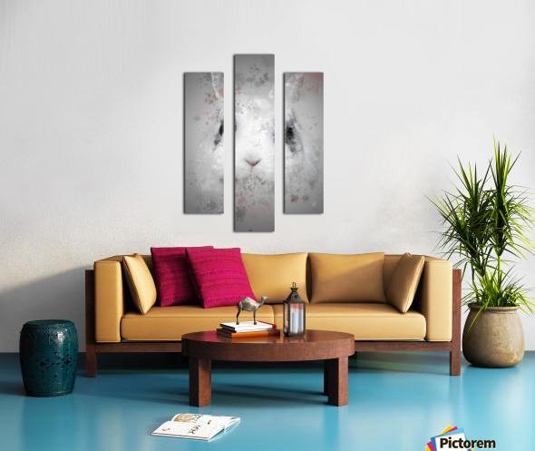 Lapin Canvas print