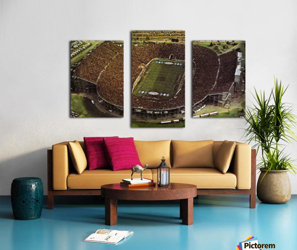 1981 Beaver Stadium Art Canvas print
