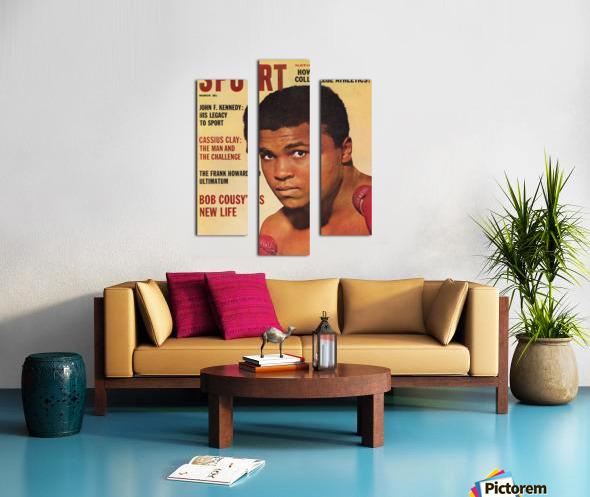 1964 Sport Magazine Muhammad Ali Cover Canvas print