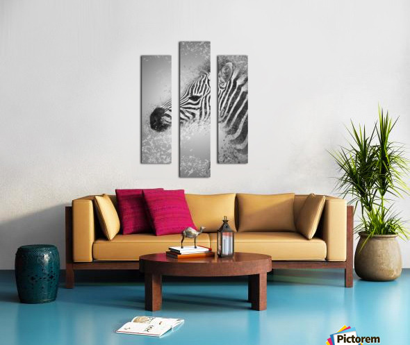 zebre 2 Canvas print