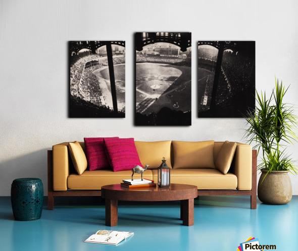 1963 Yankee Stadium Art Canvas print
