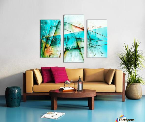 ABSTRACT ART BRITTO QB300B Canvas print