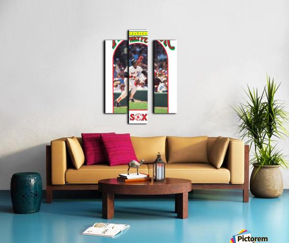 1985 Boston Red Sox Retro Poster Canvas print
