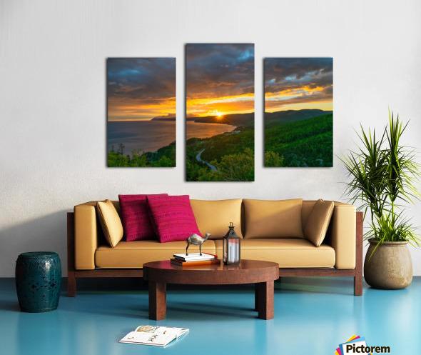 Good Morning Pleasant Bay Canvas print