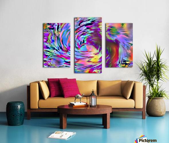Love Comes Around Canvas print