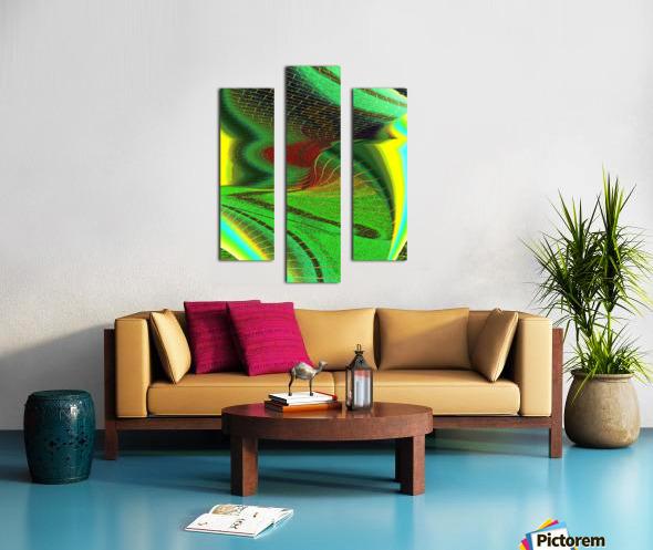 Brickabrack Canvas print