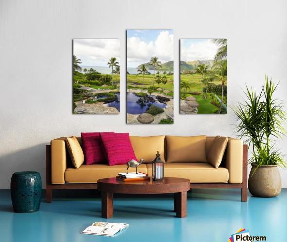 Welcome to Paradise   Kauai Hawaii Canvas print