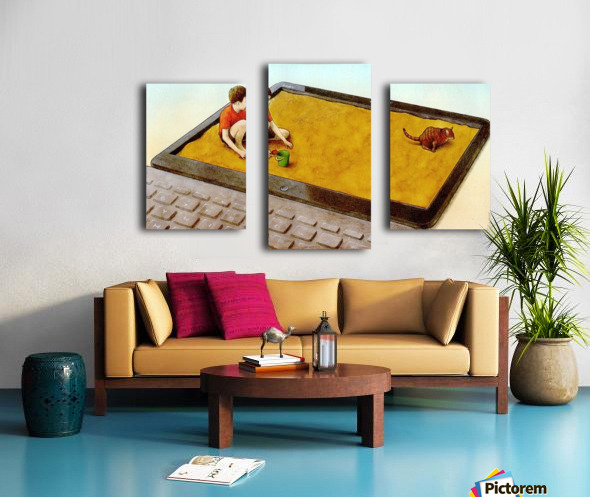 hater Canvas print
