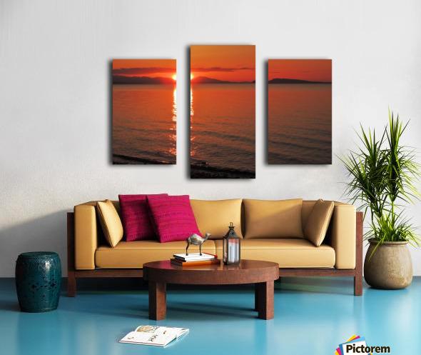 Qualicum Beach Sunset Canvas print
