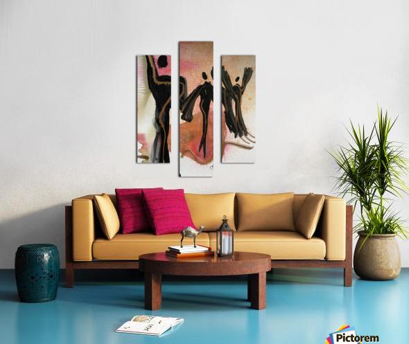 My People 5 Canvas print
