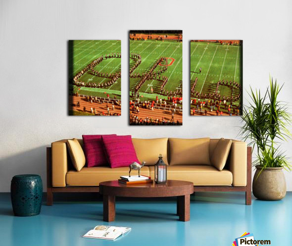 1978 Ohio State Marching Band Art Canvas print