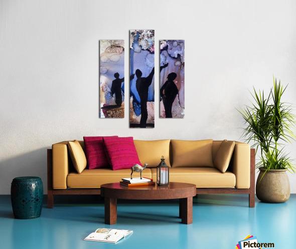 Is It Raining Canvas print
