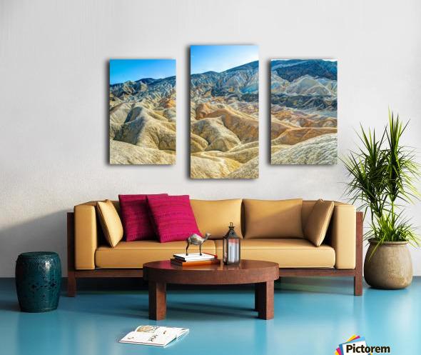 Death Valley Waves Canvas print