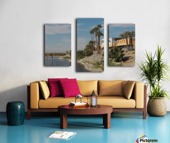 North Shore Beach & Yacht Club Canvas print