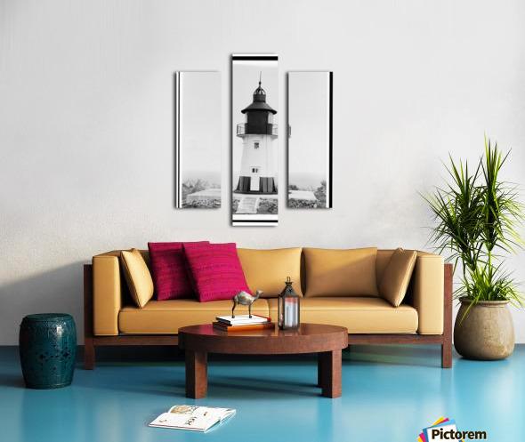 Hams-Bluff-Lighthouse-US-Virgin-Islands Canvas print