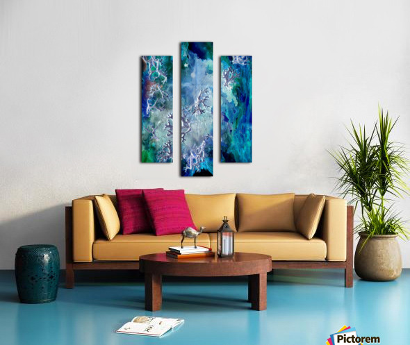 Lunar neuronal essence Canvas print
