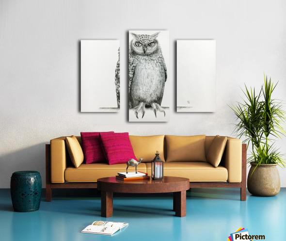 Qwl Canvas print