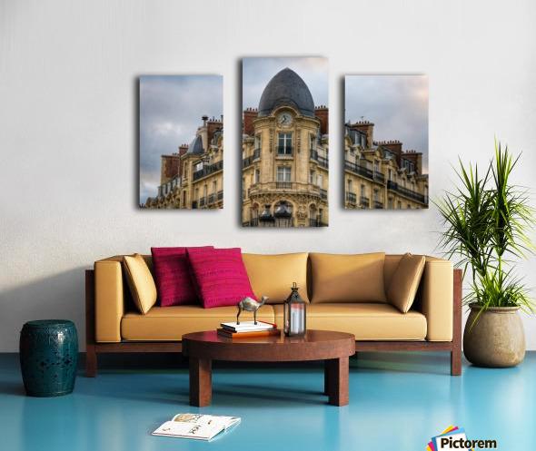 Paris Style Canvas print