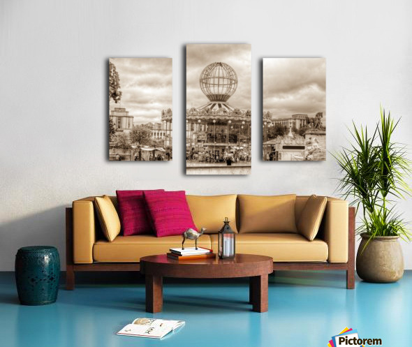 Paris Caroussel Canvas print