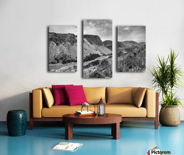 Cliffs of la Grande Falaise Canvas print