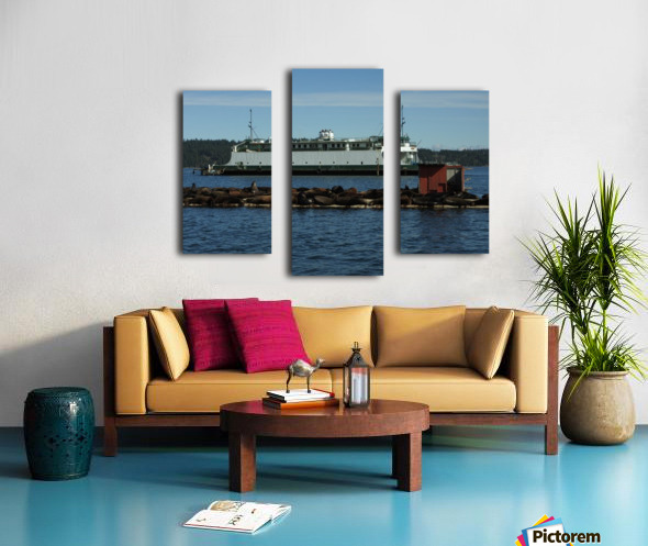 Baynes Sound Canvas print