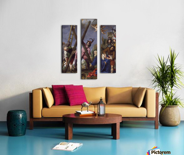 The Martyrdom of St Andrew Canvas print