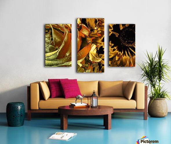 Just Golden Canvas print