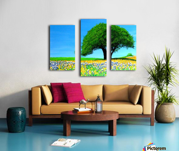 Texas Hill Country  Impression sur toile