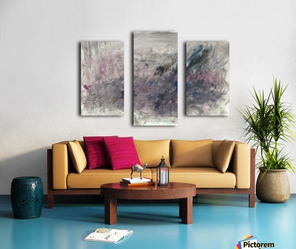 Anger 3 Canvas print